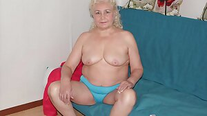 Old big granny boobs and big fat grannies in video and pic compilation
